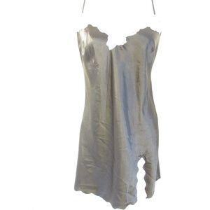 NWT Victoria's Secret Black-White Lace Night Gown